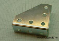 univerzális sarok merevítő szerelőháromszög 90x90x30 mm, horganyzott