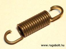 Húzórugó - 1,5x10x24 A.44 natúr, R:5,25 N/mm, max. elmozdulás:19 mm