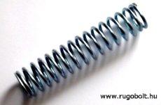Nyomórugó - 2,5x22x100 horganyzott - menetszám: 1+15+1 R.3,578N/mm max.elmozdulás:50 mm 180 N