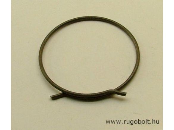 Biztosító gyűrű - 1,8x48 mm - natúr