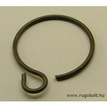 Biztosító gyűrű - 3x54 mm - gyűrű füllel - natúr