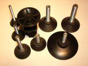 Talpcsavar - M8x50 - talpátmérő: 40 mm