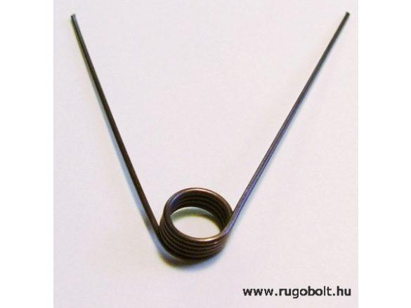 Zárrugó - 1,0x9,5x5,0 mm - natúr