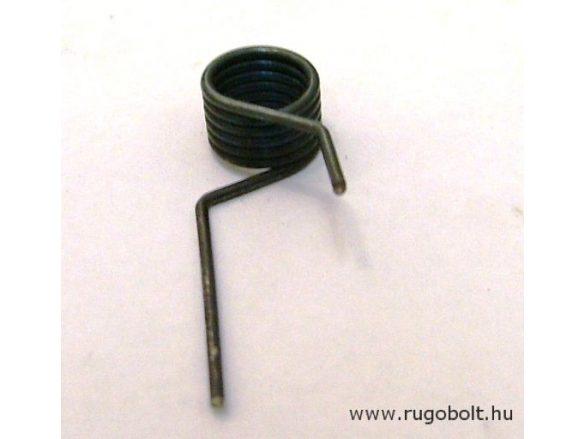 Zárrugó - 1,2x10,5x7,0 mm - natúr