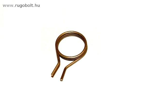 Léptető rugó - 1,2x16x4,0 mm - rozsdamentes (inox)