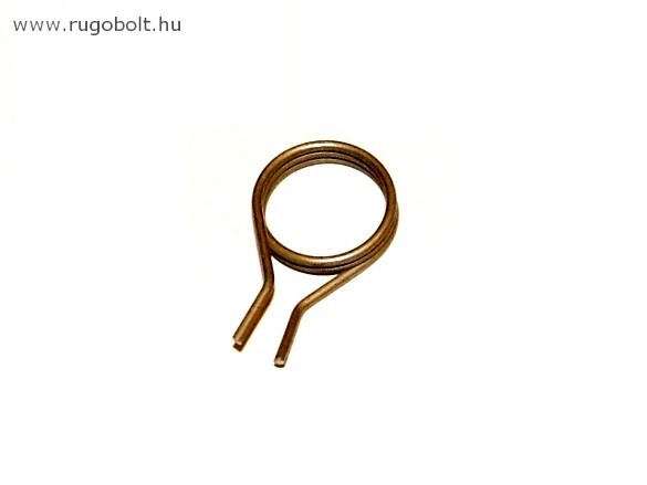 Feszítőrugó léptetőhöz - 1,2x16x4,0 mm - rozsdamentes (inox)