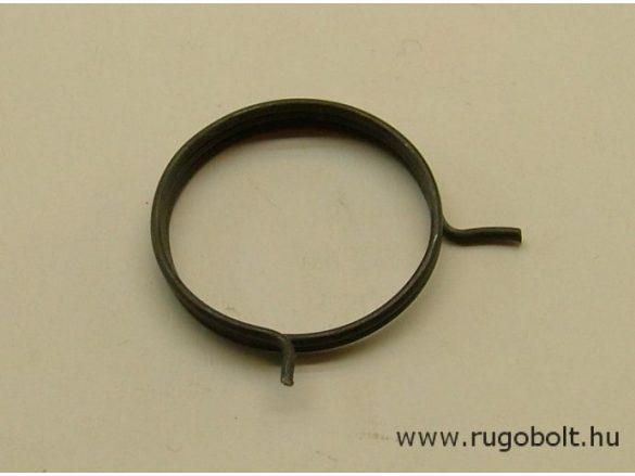 Feszítőrugó (zárrugó) - 1,2x25,6x4,0 mm - natúr