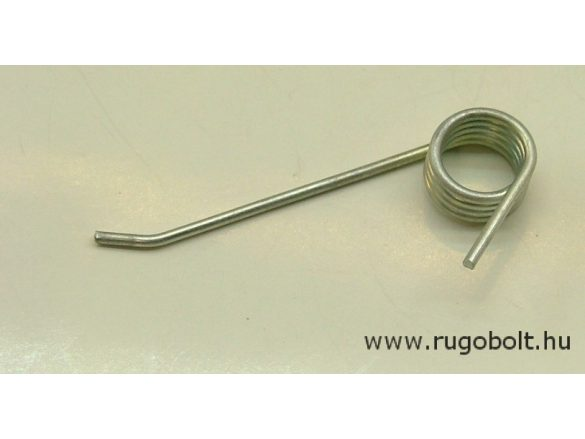 Feszítőrugó fűlazítóhoz - 1,4x12x7,0 mm - horganyzott