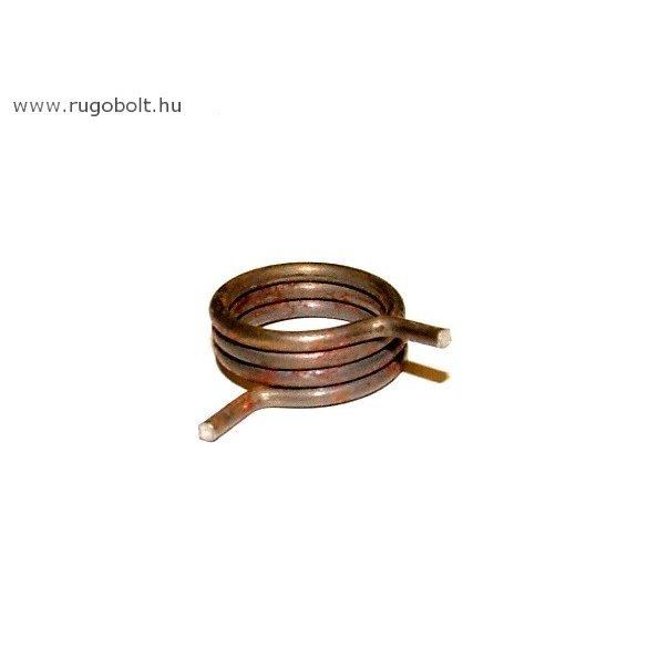 OPEL gyújtáskapcsoló rugó - 1,4x13,5x6,0 mm - natúr