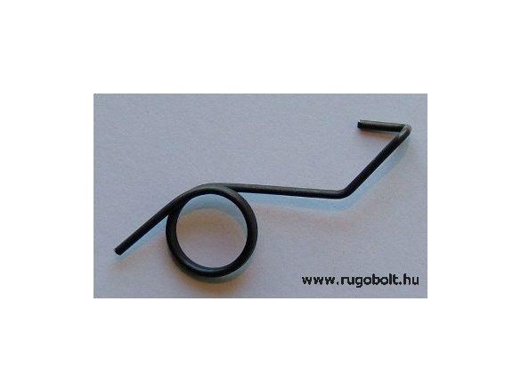 Csővágó olló rugó - 1,4x14,5x4,0 mm - natúr