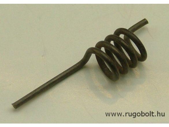 Feszítőrugó - 1,5x10x12 mm - natúr