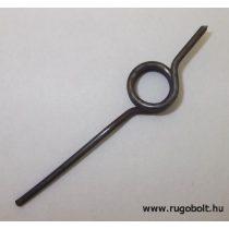 Zárrugó - 1,5x10,5x4,5 mm - natúr