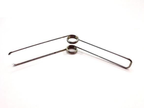 Feszítőrugó - 1,5x12x18 mm - (dupla) - horganyzott