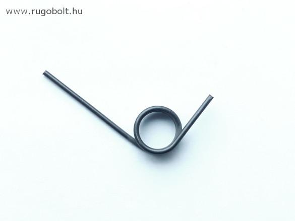 Locsolófej feszítőrugó - 1,5x13x6,0 mm - horganyzott