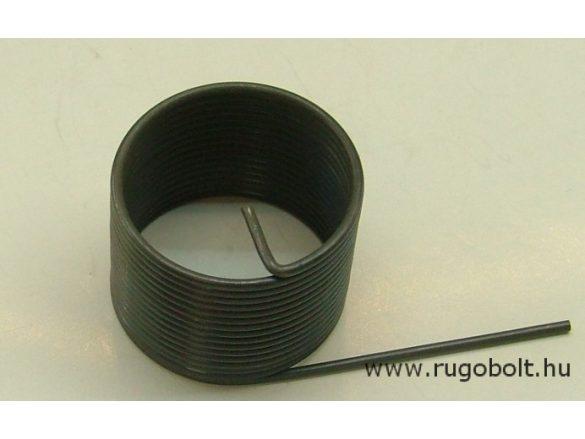 Feszítőrugó - 1,5x31,5x25 mm - natúr