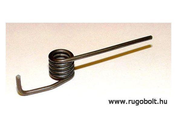 Zárrugó - 1,6x9,0x9,6 mm - natúr