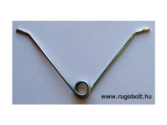 Metszőolló rugó - 1,8x10x6,0 mm - horganyzott