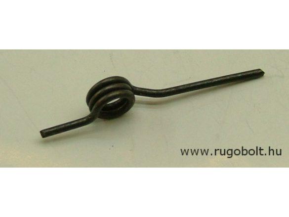 Feszítőrugó - 1,8x10,5x5,0 mm - natúr