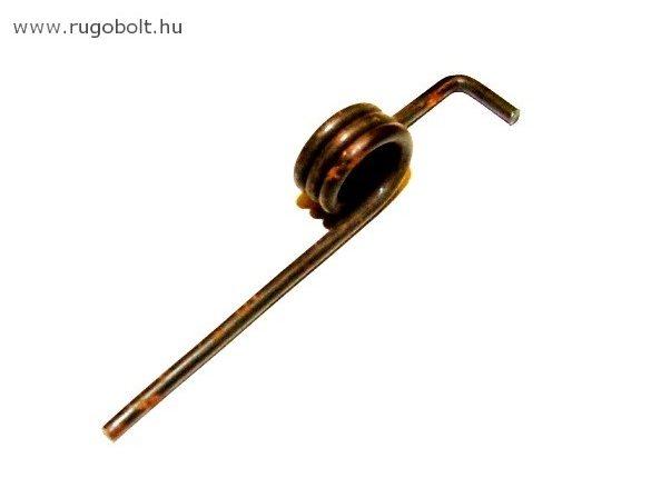 Zárrugó - 1,8x11x7,2 mm - natúr