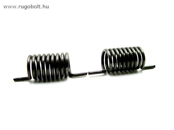 Feszítőrugó - 1,8x13,5x23 mm - (balos) - natúr