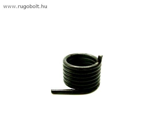 Kerékpár váltó feszítőrugó - 1,8x17x13 mm - natúr