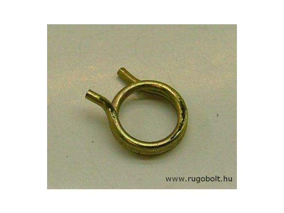 Feszítőrugó - 2,0x16x4,0 mm - horganyzott