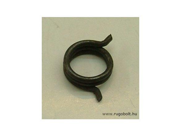 Léptető villa rugó - 2,0x17x6,0 mm - natúr