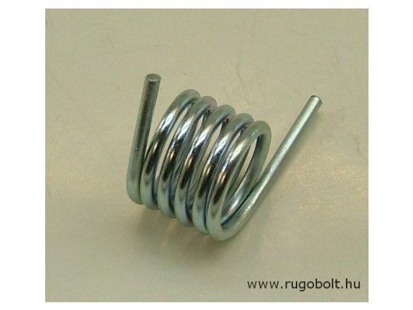 Feszítőrugó csapdához - 2,0x18x13 mm - horganyzott