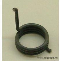 Feszítőrugó - 2,0x20x9,0 mm - natúr