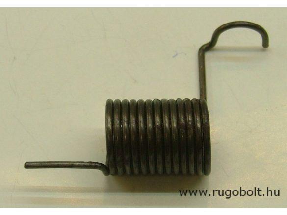 Feszítőrugó - 2,0x21x28 mm - natúr
