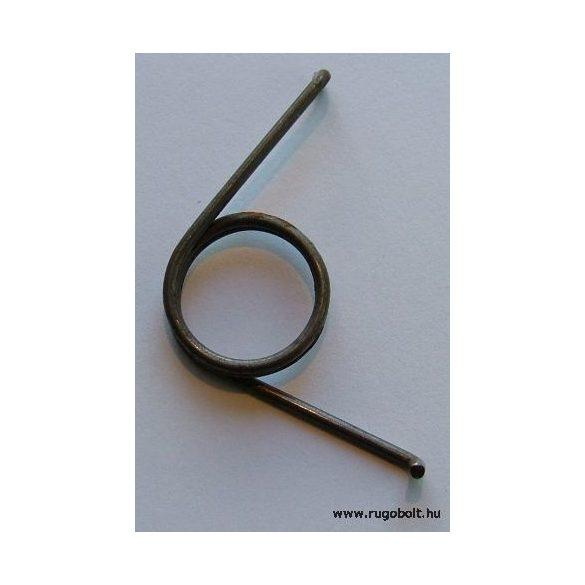 Metszőolló rugó - 2,0x23x6,0 mm - natúr