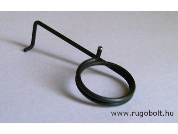 Feszítőrugó - 2,0x25,5x6 mm - (balos) - natúr