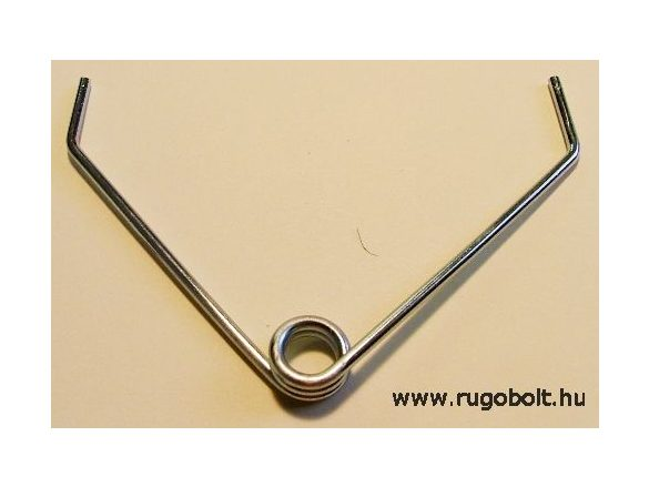 Feszítőrugó szegélynyíró ollóhoz - 2,2x12x7,0 mm - horganyzott