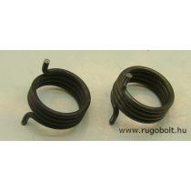 Feszítőrugó - 2,2x23x10 mm - (balos) - natúr