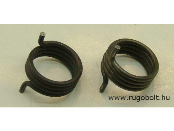 Feszítőrugó - 2,2x23x10 mm - (jobblos) - natúr