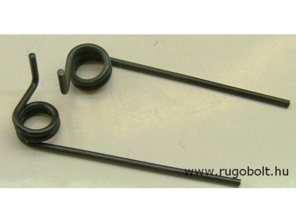 Feszítőrugó - 2,5x15,7x10 mm - (jobbos) - natúr