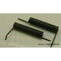 Feszítőrugó - 2,5x16x72 mm - (balos) - natúr