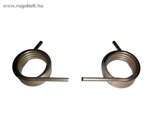 Feszítőrugó - 2,5x22,5x13 mm - natúr