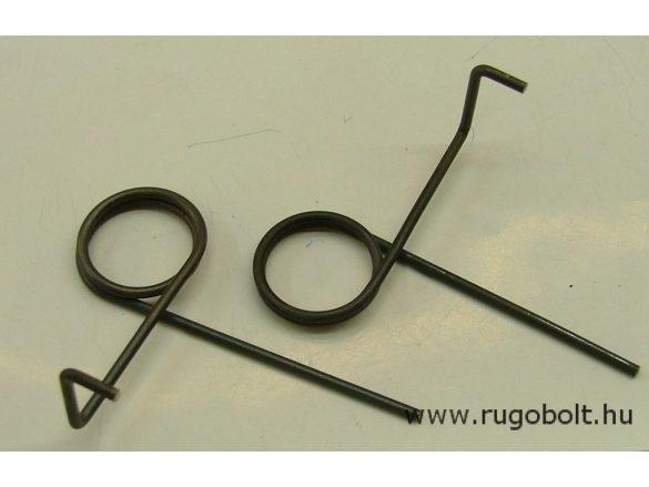 Feszítőrugó - 2,5x27x5,0 mm - (balos) - natúr