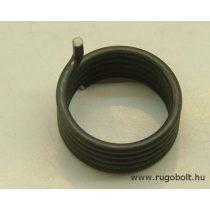 Feszítőrugó - 2,5x28,5x12,5 mm - natúr