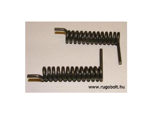 Sütőajtó feszítőrugó pár - 3,0x12,5x56 mm - natúr