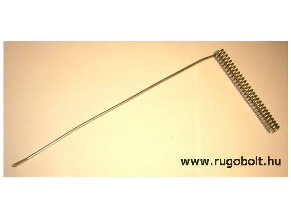 Sütőajtó feszítőrugó - 3,0x15x130 mm - horganyzott