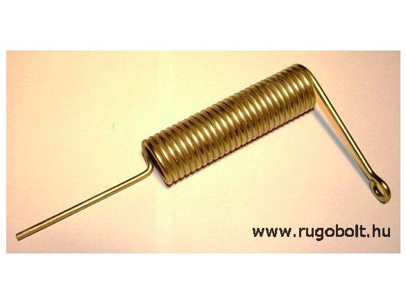 Sütőajtó feszítőrugó - 3,5x27x100 mm - horganyzott