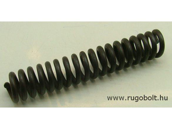 Lengőajtópánt (bommerpánt) feszítőrugó - 4,0x23x127 mm - natúr