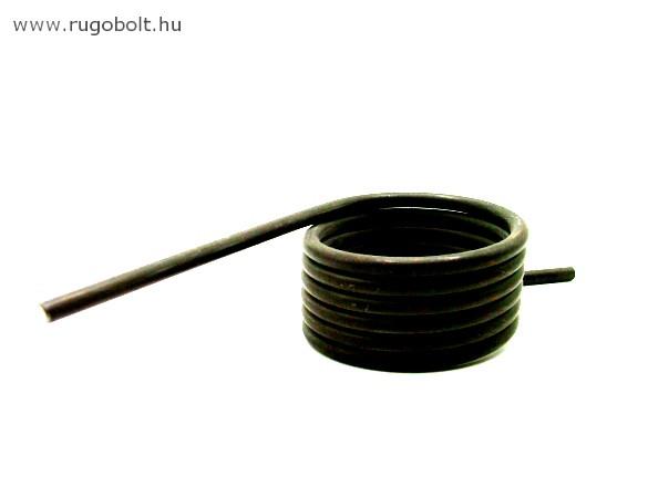 Feszítőrugó - 4,0x50x27 mm - natúr