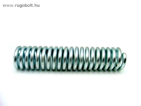 Lengőajtópánt (bommerpánt) feszítőrugó - 5,0x31x145 mm - horganyzott