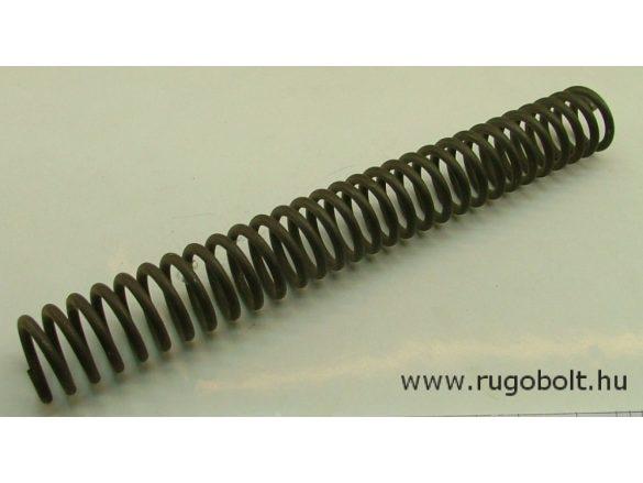 Lengőajtópánt (bommerpánt) feszítőrugó - 5,0x39x325 mm
