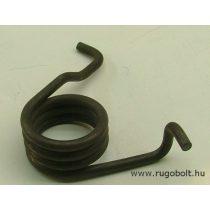 Feszítőrugó - 5,0x40x23 mm - natúr