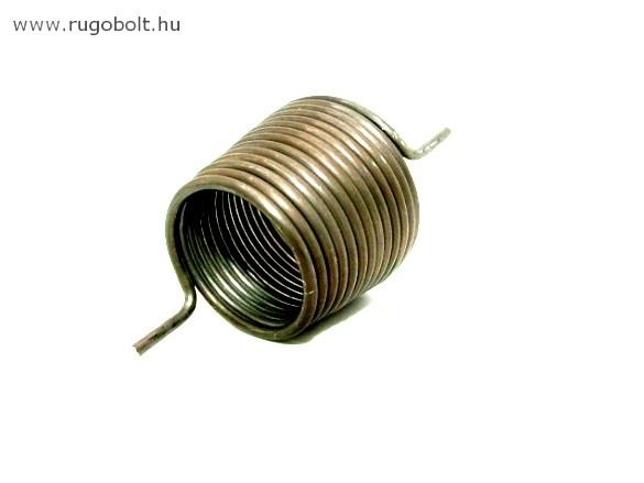 Fúrógép kúpos feszítőrugó - 2,2x28/36x30 mm - natúr
