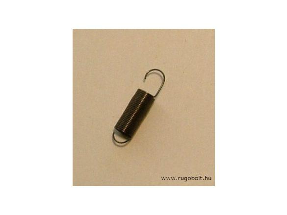 Húzórugó - 0,3x5,0x11 mm - A.19 - natúr - R: 0,022N/mm - max.elmozdulás: 65 mm